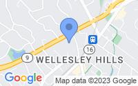 Map of Wellesley MA