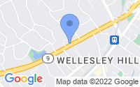 Map of Wellesley MA