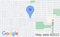 Map of Garden City MI