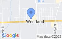 Map of Westland MI