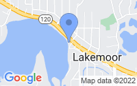 Map of Lakemoor IL
