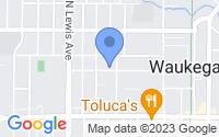 Map of Waukegan IL