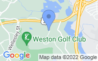 Map of Weston MA