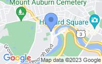 Map of Cambridge MA