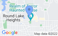 Map of Round Lake Beach IL