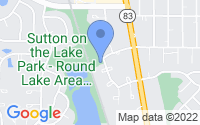 Map of Round Lake Beach IL