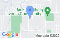 Map of Livonia MI
