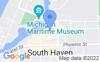 Map of South Haven MI