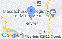 Map of Revere MA