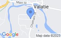 Map of Valatie NY