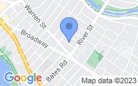 Map of Arlington MA