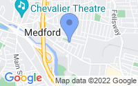 Map of Medford MA