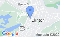 Map of Clinton MA
