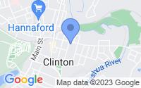 Map of Clinton MA