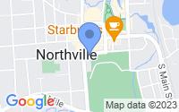Map of Northville MI