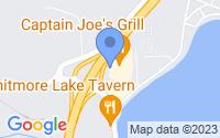 Map of Whitmore Lake MI