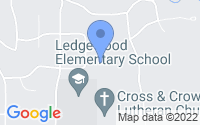 Map of Roscoe IL