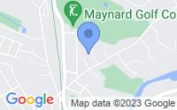 Map of Maynard MA