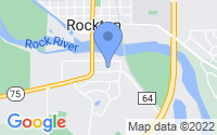 Map of Rockton IL