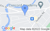 Map of Concord MA