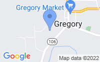 Map of Gregory MI