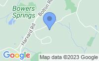Map of Bolton MA