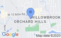 Map of Novi MI