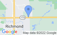 Map of Richmond IL