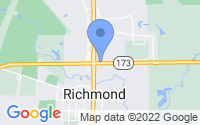 Map of Richmond IL
