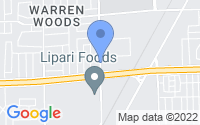 Map of Warren MI
