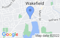 Map of Wakefield MA