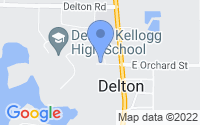 Map of Delton MI