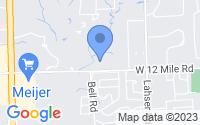 Map of Southfield MI