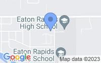 Map of Eaton Rapids MI