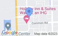 Map of Warren MI