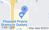 Map of Pleasant Prairie WI