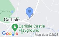 Map of Carlisle MA