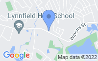 Map of Lynnfield MA
