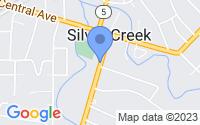 Map of Silver Creek NY