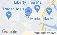 Map of Danvers MA