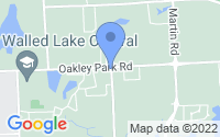 Map of Commerce Charter Township MI