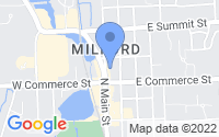 Map of Milford Charter Township MI