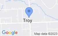 Map of Troy MI