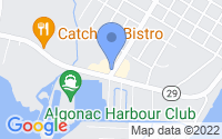 Map of Algonac MI