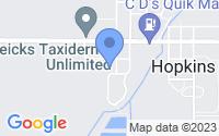 Map of Hopkins MI