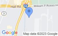 Map of Harrison charter Township MI