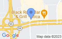 Map of Utica MI