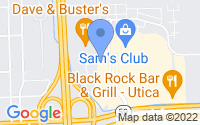 Map of Utica MI