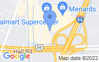 Map of Chesterfield MI