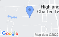 Map of Highland Charter Township MI